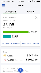 New Company Dashboard And Invoice Tracking Apple Ios V5 0 Quickbooks