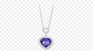 locket earring swarovski ag necklace pendant swarovski jewelry women purple heart shaped necklace png 600 500 free transpa locket png