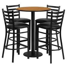 outdoor bar chairs with backs. furniture. round table with brown wooden top and black metal based plus iron stool outdoor bar chairs backs