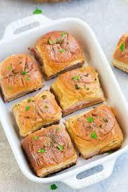 Ham And Cheese Sliders Easy Ham Sliders Recipe