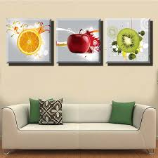 amazon lyglo canvas prints bright and vibrant fruit canvas wall art paintings for kitchen posters prints on set of three framed wall art with amazon lyglo canvas prints bright and vibrant fruit canvas