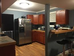 kitchen wall colors with cherry cabinets. Exquisite Decoration Paint Colors That Go With Cherry Wood Cabinets Kitchen Wall Ideas N