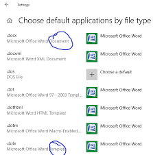 dotx file extension word opening files as document1 document2 solved page 2 windows