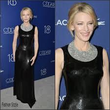 Costume Designer Guild Awards 2016 Cate Blanchett In Atelier Verscae Costume Designers Guild