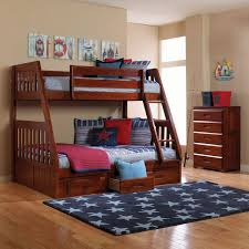Merlot Twin over Full Bunk Bed Discovery Furniture