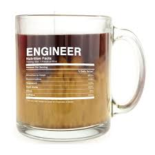 gifts for engineers engineer nutrition facts mug