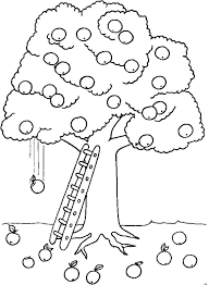 Apple Printable Coloring Pages Apple Coloring Pages To Print