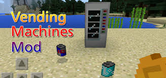 How To Make Vending Machine In Minecraft Pe Cool Vending Machines Mod Minecraft PE Mods Addons