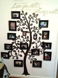 family tree picture frame wall hanging wall art design ideas astonishing family tree wall art picture