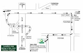 San Jose Kitchen Cabinets San Jose Kitchen Cabinets Map And Directions