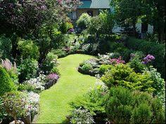 Small Picture Town garden Backyard Lawn and Gardens