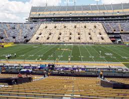 Lsu Tiger Stadium Section 103 Seat Views Seatgeek