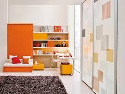 Modern Orange Kids Room
