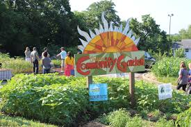 conception community garden s sign
