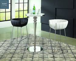 dixon bar table 3pc set 182031 scott living by coaster