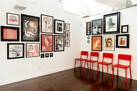 graphic designers office. ty mattson southern california office graphic design gallery wall designers e