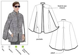 Cape Sewing Pattern New Nell Cape Style Arc