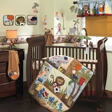 lambs ivy team safari 9 piece crib bedding set