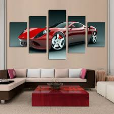 Race Car Room Decor Online Get Cheap Racing Car Painting Aliexpresscom Alibaba Group