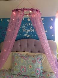 Princess canopy bed corner ideas diy beautiful decor - Princess ...