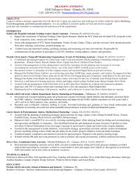 Sports Management Cover Letters Resume Cover Letter By Brandon Anthony Issuu