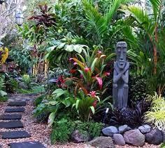 how to create a tropical garden