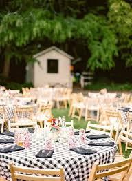 A Blue And Yellow Washington Backyard Wedding  Every Last DetailSummer Backyard Wedding