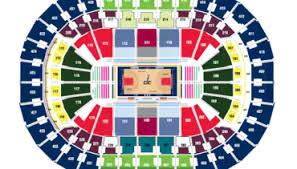 Capital Center Seating Chart Target Center Seating Chart