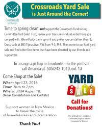crossroads yard yard flyer 2016 final
