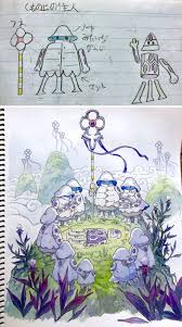 Father And Sons Design Workshop Dad Turns His Sons Doodles Into Anime Characters And The