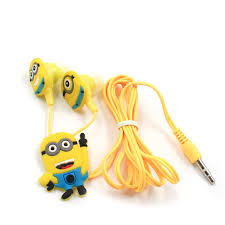 Image result for Minions with earbuds