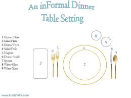 informal dining table setting. how to set your dinner table informal dining setting e