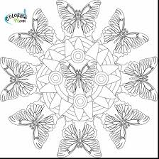 Mandala Coloring Pages Pdf Free With 28 Collection Of Butterfly
