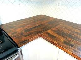 fresh hampton bay countertops for laminate kit with right miter in premium antique finish and hampton
