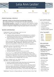 Flight Attendant Resume Best Leia Lester Corporate Flight Attendant Resume 28