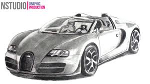 sport cars drawings. Delighful Drawings How To Draw Bugatti Veyron Sport Car  Step By  Drawing With Cars Drawings