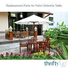 round patio umbrella tablecloth replacement parts for table