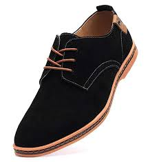 dadawen men s classic suede leather business casual dress shoes
