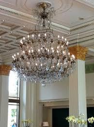 palazzo versace versace foyer chandelier