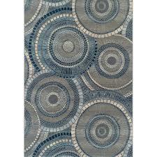 blue indoor outdoor rug 8 x large indigo blue indoor outdoor rug st clowers aal blue
