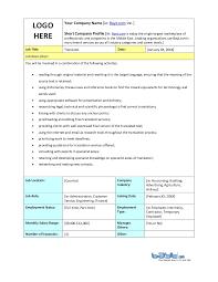 Interpreter Job Description Translator Job Description Template By Bayt Com