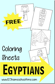 Small Picture FREE Ancient Egyptian Coloring Sheets