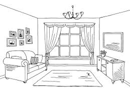 bedroom clipart black and white. Simple Bedroom And Bedroom Clipart Black White