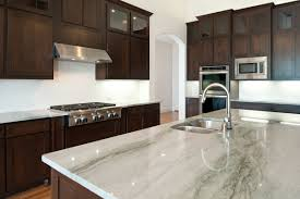 Kitchen With Grey Granite Countertops Best Kitchen Design And - Granite kitchen