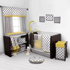 bacati dots pin stripes gray yellow girls 10 piece nursery in a bag 100 cotton percale uni crib bedding set with 2 crib fitted sheets com