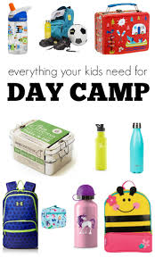 Must Haves For Summer Day Camp - No Time For Flash Cards