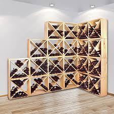"""<b>Wine Rack</b>, Bottle Rack System """"CUBE"""" <b>48</b> for 24 bottles - <b>H48</b> x ..."""