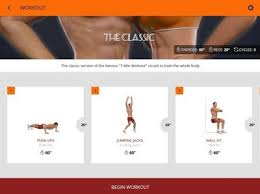 burn calories achieve amazing body for this summer with 7 minute workout app