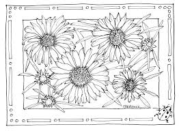 Small Picture Download Coloring Pages Sunflower Coloring Pages Van Gogh