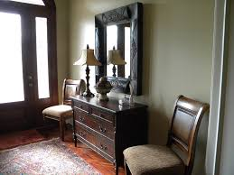 front entry table. Chic Foyer Tables Ideas For Decorate Your Interiors: Fabulous Entryway With Front Entry Door And Table H